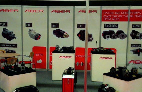 ABER Stand at Tip Ex UK Exhibit
